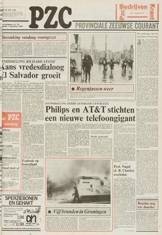 Provinciale Zeeuwse Courant 1983-08-02