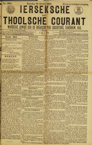 Ierseksche en Thoolsche Courant 1910-10-22