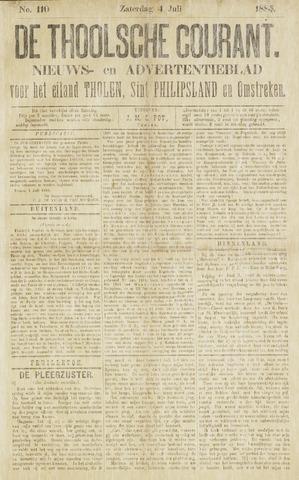 Ierseksche en Thoolsche Courant 1885-07-04