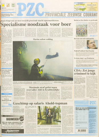 Provinciale Zeeuwse Courant 2003-09-05