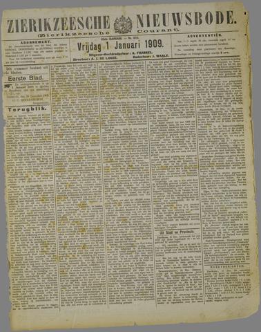 Zierikzeesche Nieuwsbode 1909