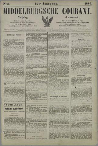 Middelburgsche Courant 1884-01-04
