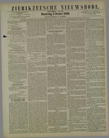 Zierikzeesche Nieuwsbode 1893-10-05