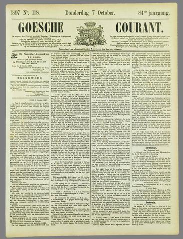 Goessche Courant 1897-10-07