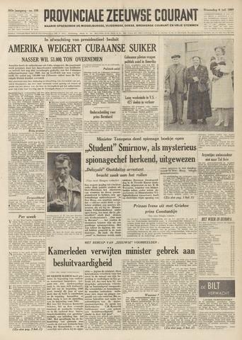 Provinciale Zeeuwse Courant 1960-07-06