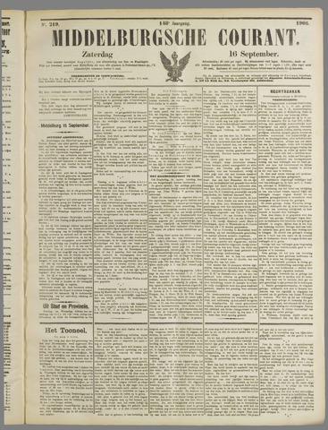 Middelburgsche Courant 1905-09-16