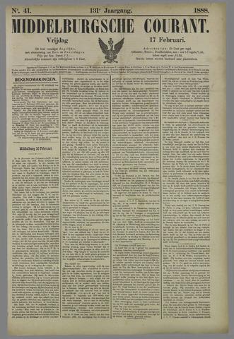 Middelburgsche Courant 1888-02-17