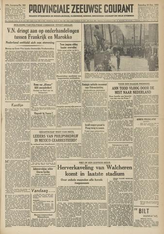 Provinciale Zeeuwse Courant 1952-12-20