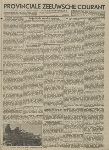 Provinciale Zeeuwse Courant 1943-04-29
