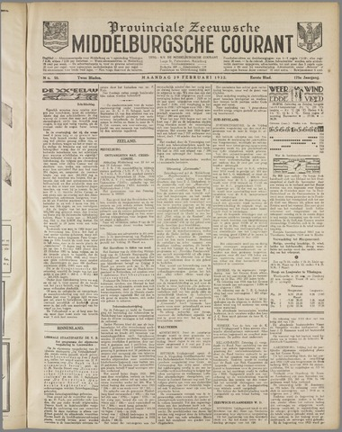 Middelburgsche Courant 1932-02-29