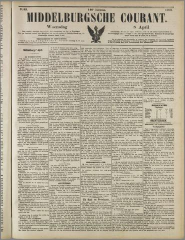 Middelburgsche Courant 1903-04-08