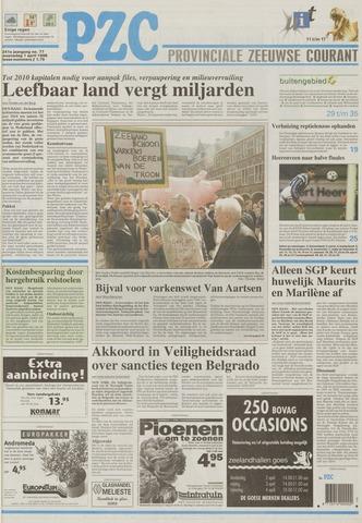 Provinciale Zeeuwse Courant 1998-04-01