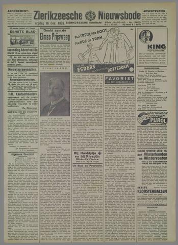 Zierikzeesche Nieuwsbode 1932-12-16
