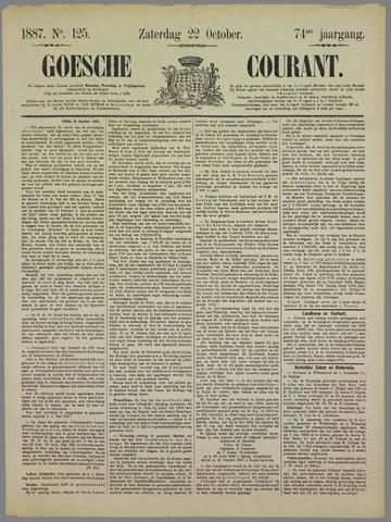 Goessche Courant 1887-10-22