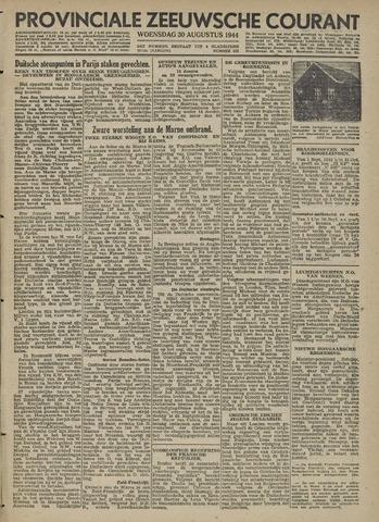 Provinciale Zeeuwse Courant 1944-08-30