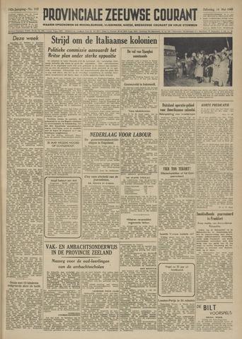Provinciale Zeeuwse Courant 1949-05-14