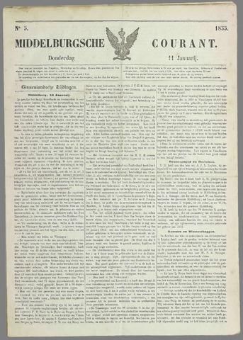 Middelburgsche Courant 1855-01-11