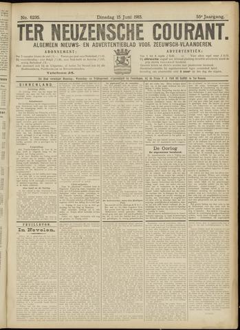 Ter Neuzensche Courant. Algemeen Nieuws- en Advertentieblad voor Zeeuwsch-Vlaanderen / Neuzensche Courant ... (idem) / (Algemeen) nieuws en advertentieblad voor Zeeuwsch-Vlaanderen 1915-06-15