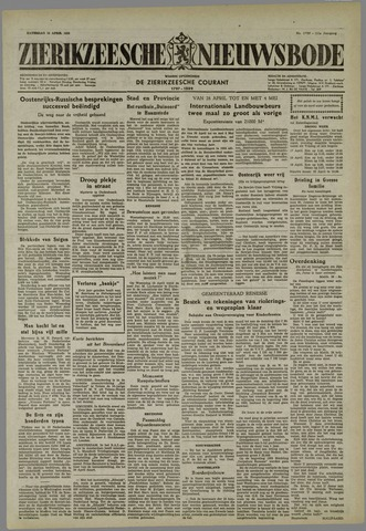 Zierikzeesche Nieuwsbode 1955-04-16