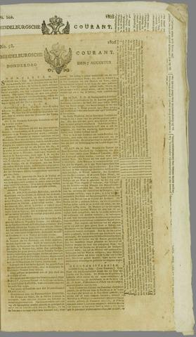 Middelburgsche Courant 1806-08-07
