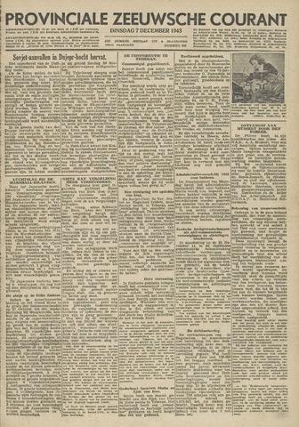 Provinciale Zeeuwse Courant 1943-12-07