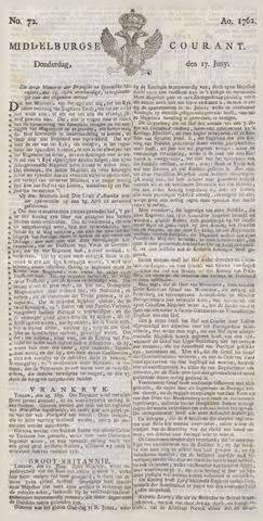 Middelburgsche Courant 1762-06-17