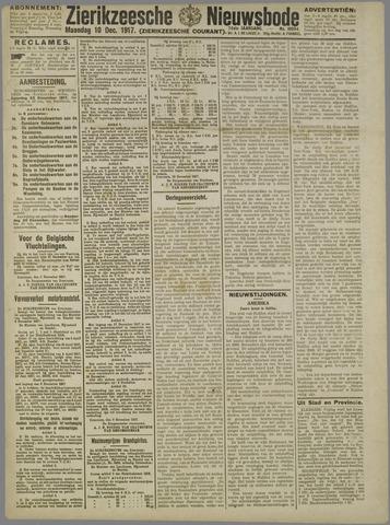 Zierikzeesche Nieuwsbode 1917-12-10