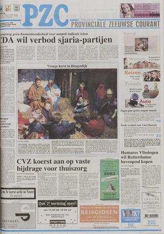 Provinciale Zeeuwse Courant 2004-12-24