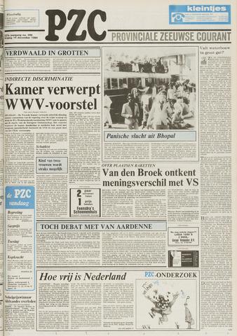 Provinciale Zeeuwse Courant 1984-12-14