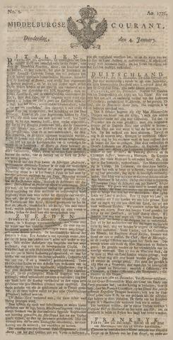 Middelburgsche Courant 1776-01-04