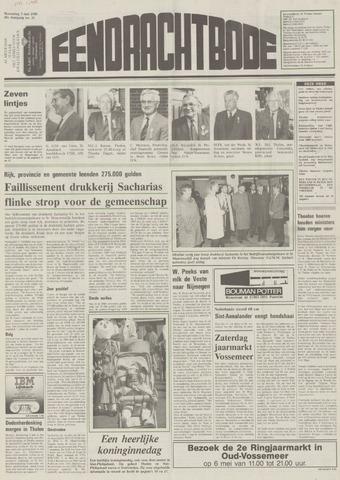 Eendrachtbode (1945-heden)/Mededeelingenblad voor het eiland Tholen (1944/45) 1989-05-03