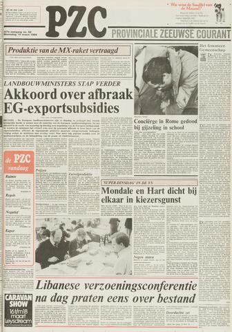 Provinciale Zeeuwse Courant 1984-03-14