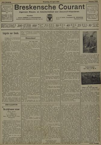 Breskensche Courant 1932-04-20