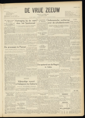 de Vrije Zeeuw 1956-10-05