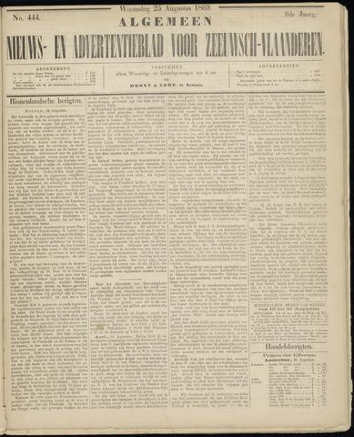 Ter Neuzensche Courant. Algemeen Nieuws- en Advertentieblad voor Zeeuwsch-Vlaanderen / Neuzensche Courant ... (idem) / (Algemeen) nieuws en advertentieblad voor Zeeuwsch-Vlaanderen 1869-08-25