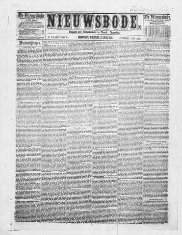 Sheboygan Nieuwsbode 1858-06-22