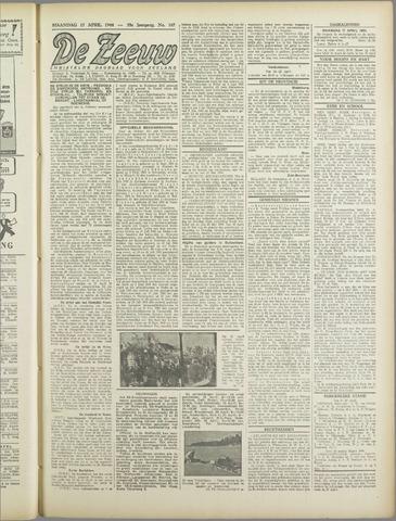 De Zeeuw. Christelijk-historisch nieuwsblad voor Zeeland 1944-04-17