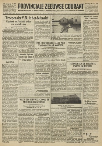 Provinciale Zeeuwse Courant 1950-11-28