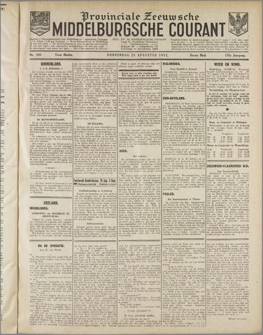 Middelburgsche Courant 1932-08-25
