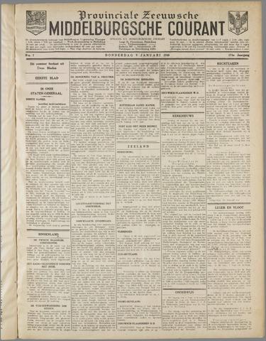 Middelburgsche Courant 1930-01-09