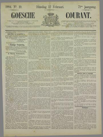 Goessche Courant 1884-02-12