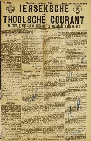 Ierseksche en Thoolsche Courant 1910-11-05