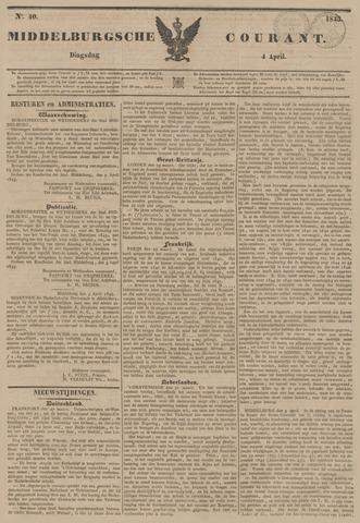 Middelburgsche Courant 1843-04-04