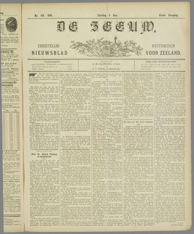 De Zeeuw. Christelijk-historisch nieuwsblad voor Zeeland 1896-06-06