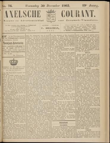 Axelsche Courant 1903-12-30