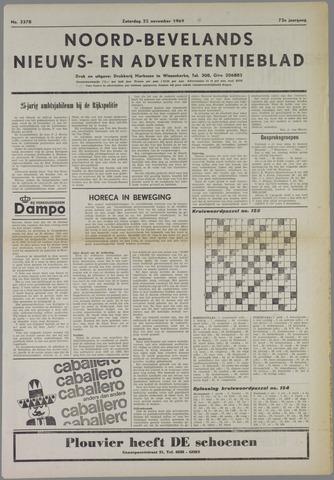 Noord-Bevelands Nieuws- en advertentieblad 1969-11-22