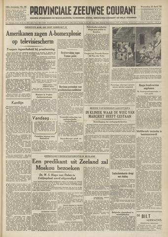 Provinciale Zeeuwse Courant 1952-04-23