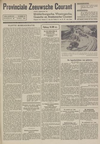 Provinciale Zeeuwse Courant 1941-04-29