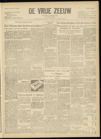 de Vrije Zeeuw 1956-02-11