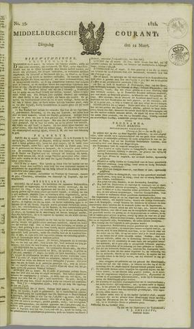 Middelburgsche Courant 1825-03-22